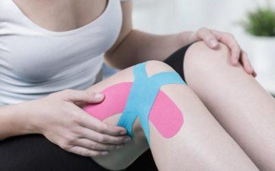 Cintas de colores para la recuperación de lesiones musculares